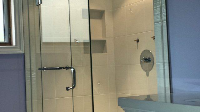 Shower glass Frameless Glass Shower Renovation Shower Door